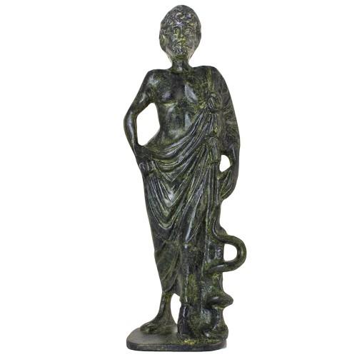 Solid Asclepius, Greek God of Medicine