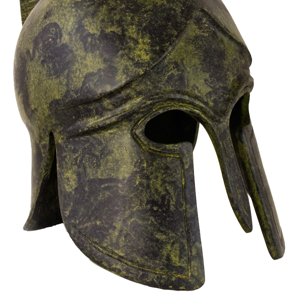 Corinthian Plain Helmet - short crest