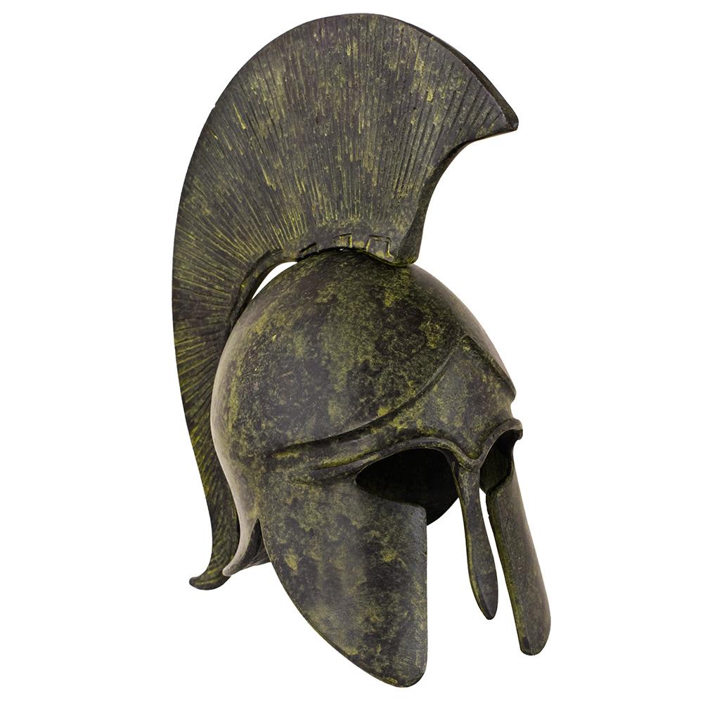 Greek Ancient Plain Helmet - short crest