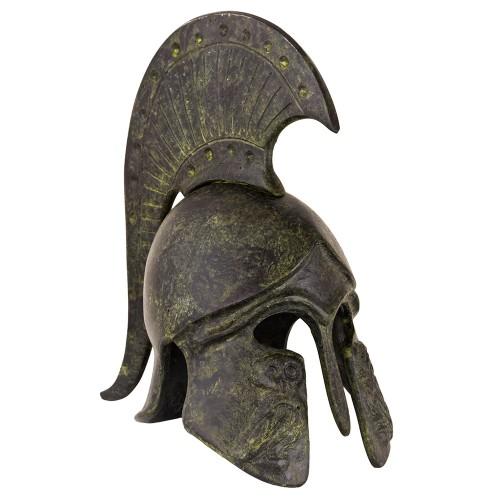 Greek Ancient Helmet - bulleted short crest