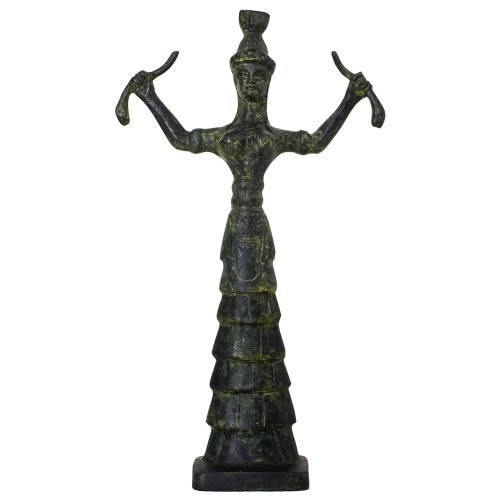 Minoan Bronze Snake Goddess