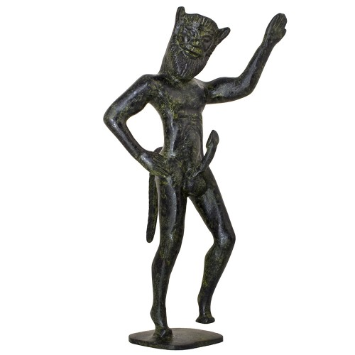 Bronze Solid Satyr