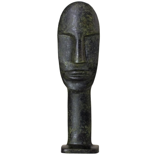 Ancient Greek Cycladic Head 18cm