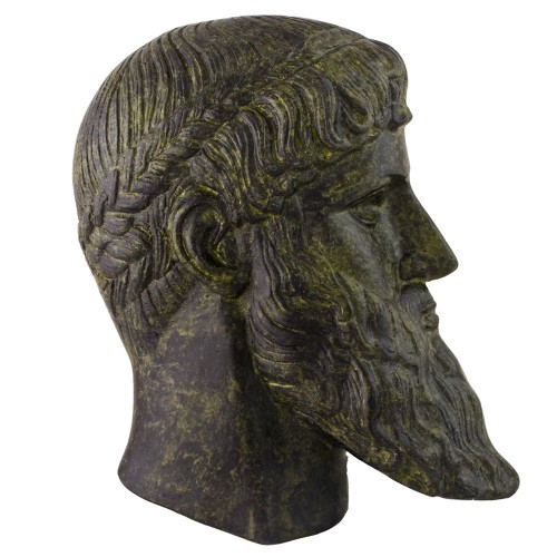 Bronze Mask Of Poseidon