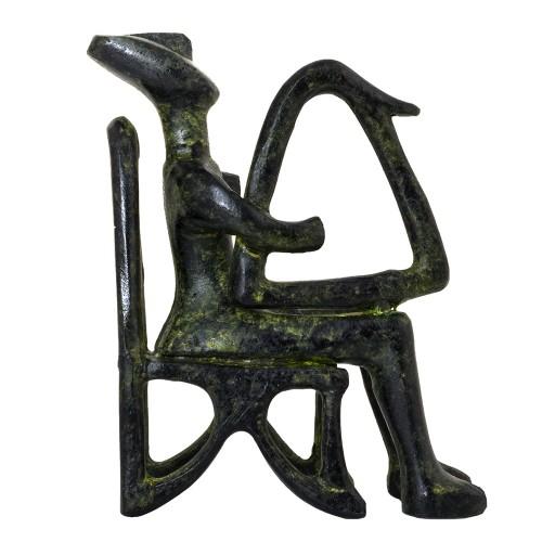 Cycladic idol, Harp Player from Keros