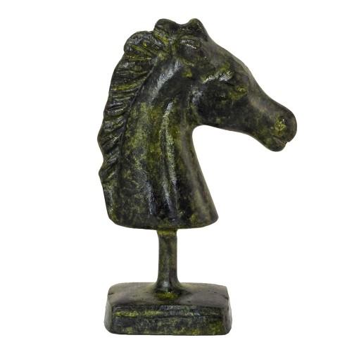 Greek Art Bronze Horse Head