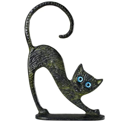 Greek Art Kneeling Cat