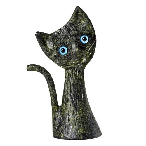 Bronze Cat Figure