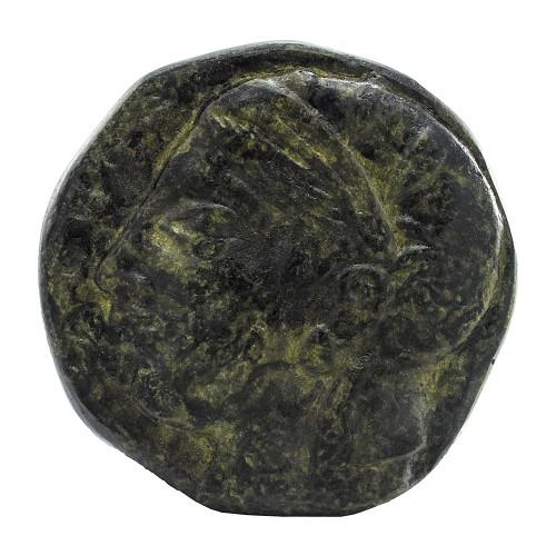 Bronze Paperweight with Goddess Athena