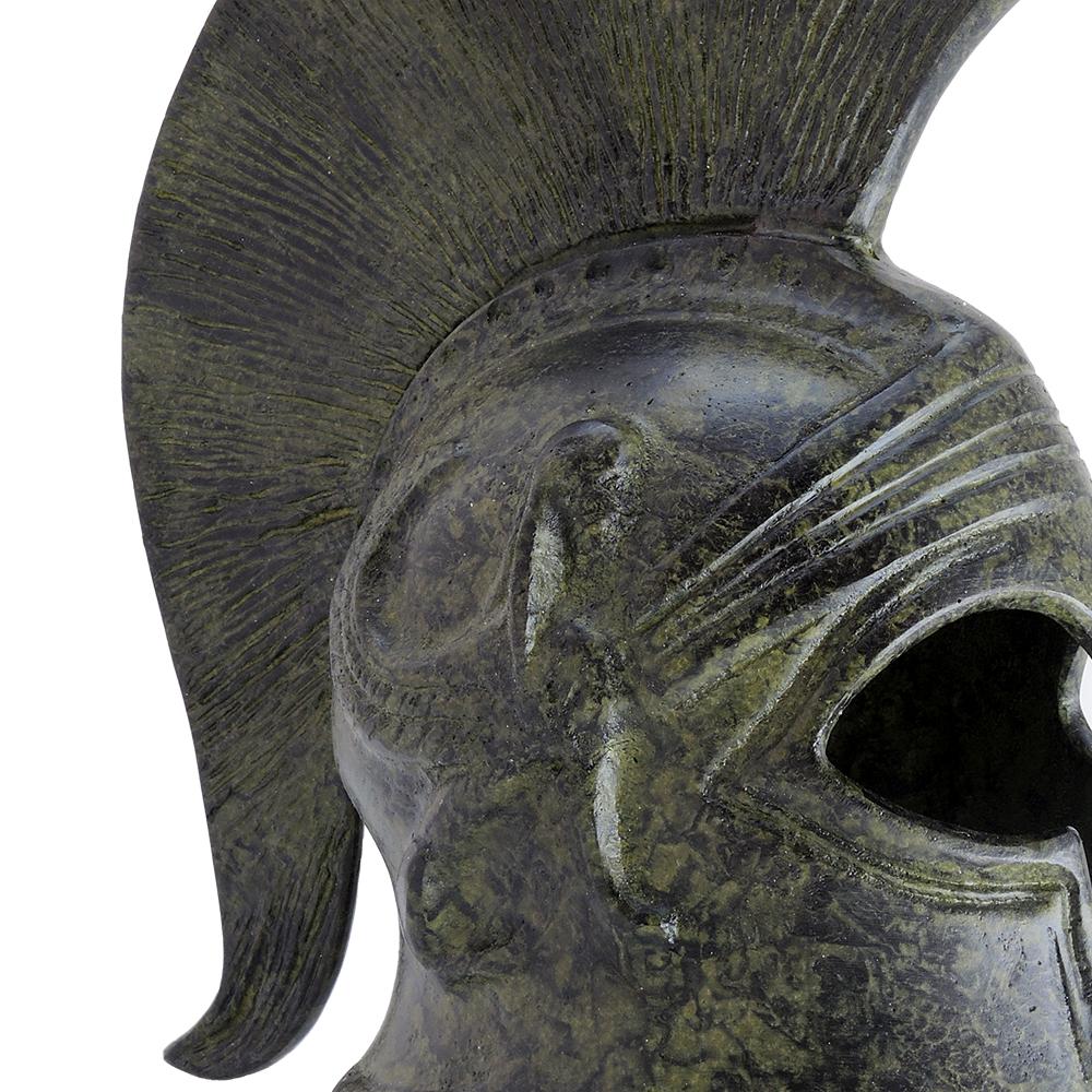 Corinthian Helmet With Sphinx 18cm
