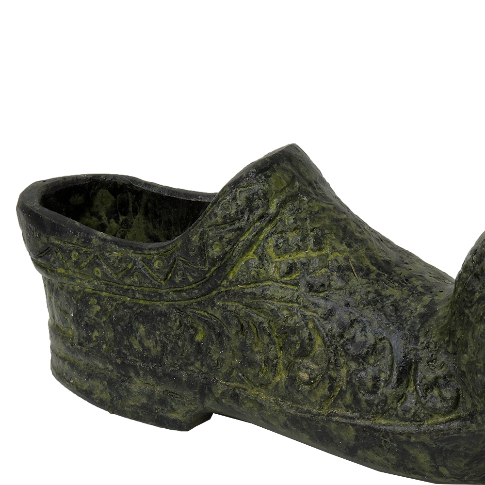 Handmade Bronze Greek Rustic Shoe(Tsarouchi)